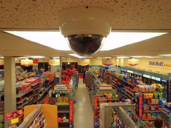 CCT Camera in Shopping Mall